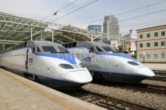 韩国KTX高速列车