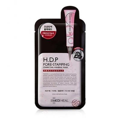 [美迪惠尔]H.D.P 黑炭矿物毛孔护理面膜 10片